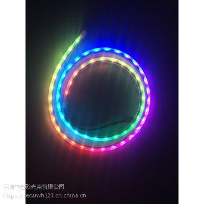 厂家供应高品质 LED 020 60灯/米 IP67防水 DC12V 白板/黑板 10MM灯条