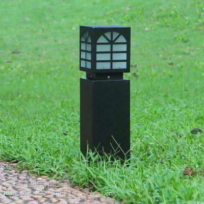启正科技--户外灯公园景区新农村防水装饰方形景观草坪灯低杆可定制