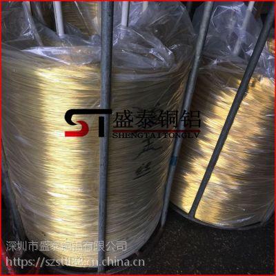盛泰国标H62黄铜线 铆钉黄铜线 半硬/全硬/全软