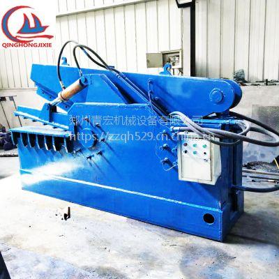 青宏机械直销250吨鳄鱼式剪切机 废金属切断机液压鳄鱼剪规格齐全