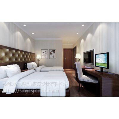 内江时尚风格酒店设计—水木源创设计方案
