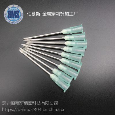 加工定制SUS304不锈钢三面针 三菱针 刺血针 已开刃采血针 1.6 2.0MM放血针