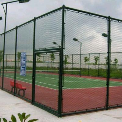 【正南】浸塑 三明体育场围网 篮球场围栏网现货供应