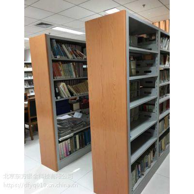 供应木护板书架钢制书架图书馆专用书架