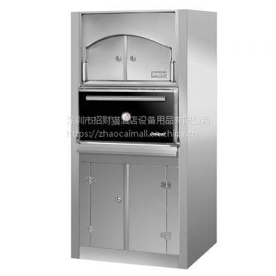 原装进口西班牙嘉士伯 JOSPER HJX50-LACXP 不锈钢橱柜木碳烤炉