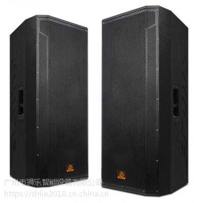 专业音响BM25双15英寸会议大型演出婚庆活动舞台木制音箱