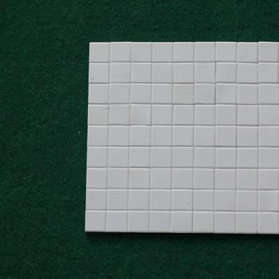 供应新润清氧化铝陶瓷耐磨内衬贴片(规格:17.5×17.5×10)