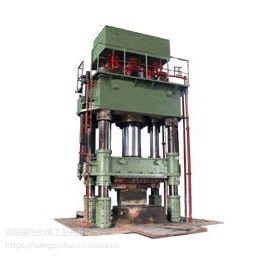 热锻自由锻液压机16MN公称压力三梁四柱自由锻液压机安阳锻压直供