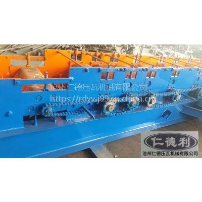 仁德压瓦机械80-300无极冲孔切断C型钢机厂家