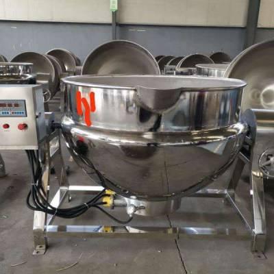 不锈钢夹层锅 专用卤煮锅