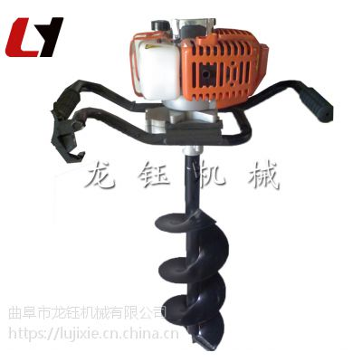 中型电线杆挖坑机植树 冻土层挖坑机价格