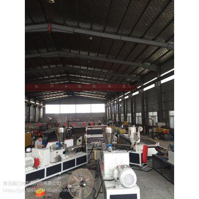嘉亿特厂家生产塑钢瓦设备/仿古瓦设备/合成树脂瓦生产线