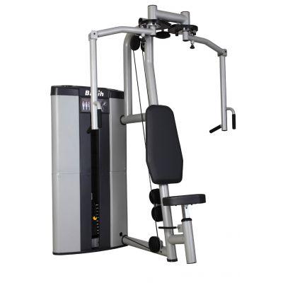 苏州商用健身器材专卖店湖北百利恒双向推胸器S102商用品牌胸肌训练器