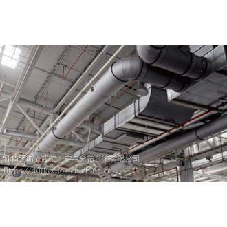 纤维织物风管与普通布袋风管系统