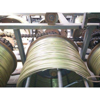 厂家直销 葡萄架铁线 大棚铁丝 圆形黄铁线 镀锌钢丝 高碳钢丝