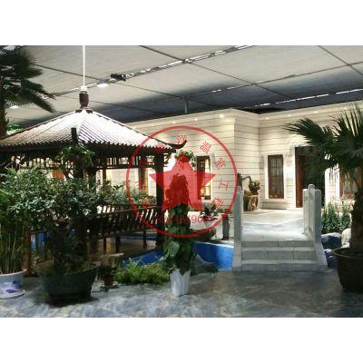 智能连栋玻璃生态餐厅温室—青州瀚洋生态温室建造