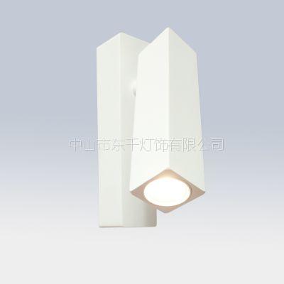 厂家直销 简约现代酒店会所工程LED床头灯 led壁灯 创意方形床头阅读灯 铝材壁灯