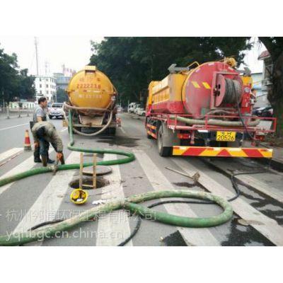 富阳灵桥镇工厂污水管道疏通