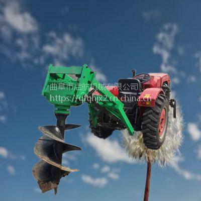 四冲程栽树打眼机参数 钻孔快的刨坑机 树苗挖坑机