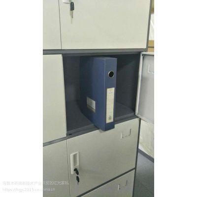 办公柜 铁皮文件柜 石河子钢制五节文件柜定做厂家