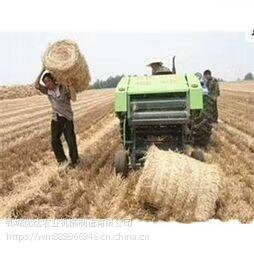 捡拾打捆机 稻草秸秆捡拾粉碎机 畜牧专用青储打捆包膜一体机 厂家直销