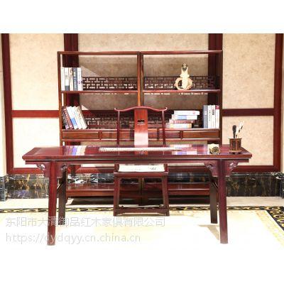 河南新乡精品批发红木家具价格表老挝大红酸枝交趾黄檀明式书桌