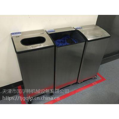 天津不锈钢垃圾箱定做厂家