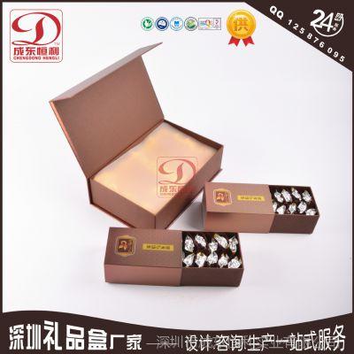 定做茶叶包装盒 食品茶叶包装盒密度板高档绿茶礼品纸盒