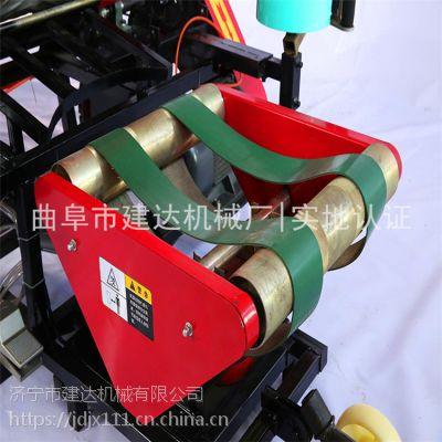 河北车载青贮打捆机包膜机 青贮打捆机生产线视频