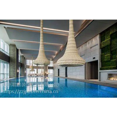 河南酒店洗浴中心设计 酒店装潢施工专业队伍 郑州君鹏装饰