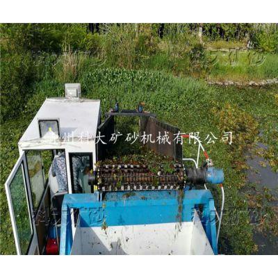 景区水面漂浮物打捞机械,河道水花生清理设备,大型水库生活垃圾保洁船