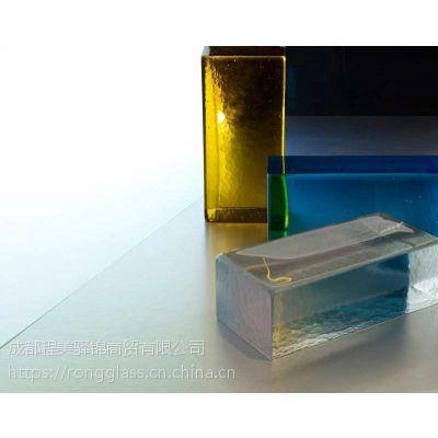 供应艺术玻璃砖夹丝玻璃
