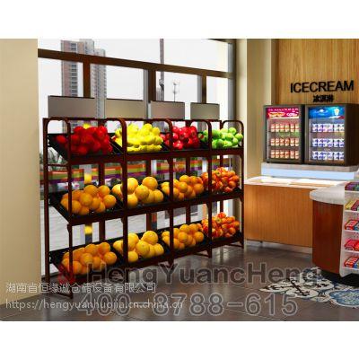 恒缘诚蔬果超市货架订制出售