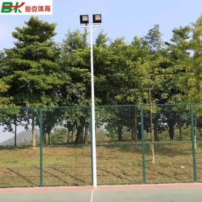 顺德户外篮球场灯柱批发/室外球场灯杆包安装