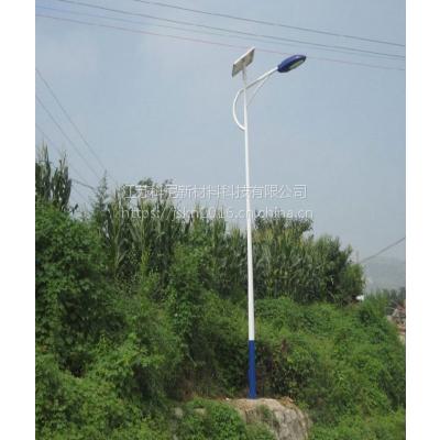 鹤岗5米锂电池太阳能路灯价格 鸡西一体化锂电池太阳能路灯 科尼星双臂路灯