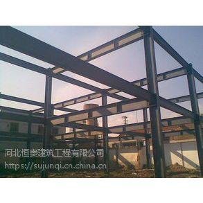 石家庄恒贵钢结构厂家,厂房制作,彩钢屋顶