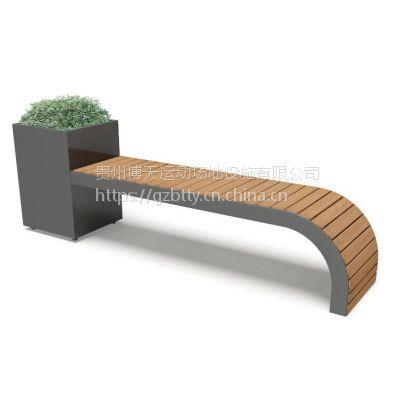 贵州B-65户外休闲椅子 小区休闲椅 组合休闲户外椅子