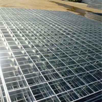 河北厂家批发环保脱硫塔热浸锌钢格板 脱销平台镀锌钢格栅板定做