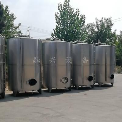 50吨立式储罐规格尺寸 304不锈钢储罐报价 酒厂100吨立式储酒罐源头好货