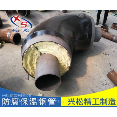 济南 预制钢套钢直埋弯头 低价出售