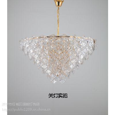 灯具风格介绍 轻奢款吊灯图片 济宁米兰名灯高端现代灯饰灯具
