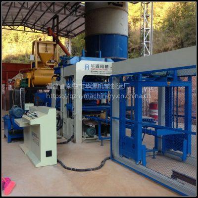 厂家直销 QT6-15全自动免烧制砖机器 大型免烧液压砖机 创业设备