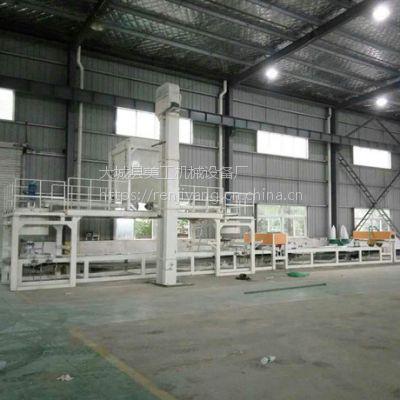 美工-16机制岩棉复合板设备,岩棉砂浆复合板设备