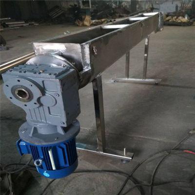 加厚叶片管壁无轴螺旋输送机 槽式双螺旋输送机
