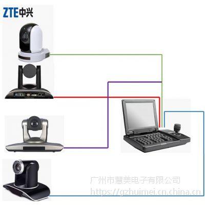 中兴NK-HD1583KC-SDI视频会议摄像机8寸SDI可视化控制键盘