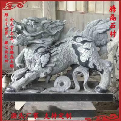石材貔貅 精美 酒店石雕貔貅 招财 惠安石雕
