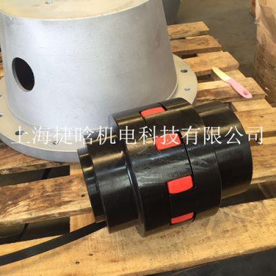 供应XL型梅花星型弹性联轴器 油泵电机用 PRNT 花键齿连轴器