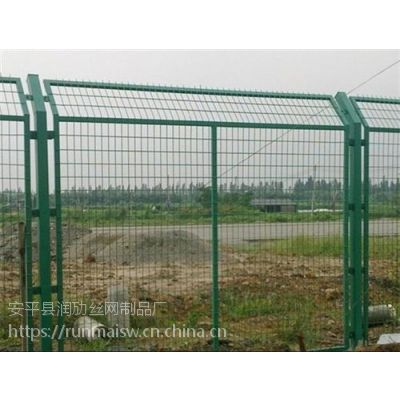 安平框架护栏网浸塑铁丝防护网圈地围墙高速公路围栏隔离栅厂家