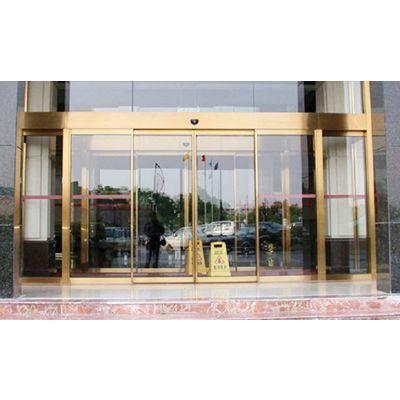 从化安装感应玻璃门,本色不锈钢自动门18027235186