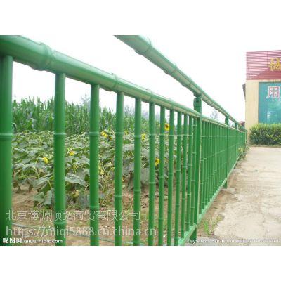 泰安Q235仿竹节景观围栏HC,锌钢围墙栅栏散件发货,竹节管市政护栏